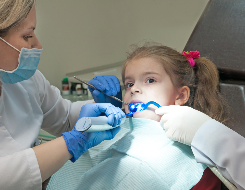 child and the dentist